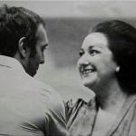 Jaime Aragall with Montserrat Caballe.
