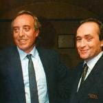 With Jose Carreras.
