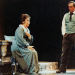 With Mirella Freni at the Liceu, Barcelona in La Boheme.