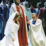 In Simon Boccanegra at the Liceu, 1989 with Anna Tomowa Sintow and Piero Cappuccilli.