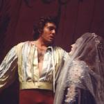 With Dame Joan Sutherland in 'Esclarmonde'.
