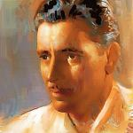 Painting of Ronald Colman appears courtesy of Jim Lether.