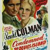 Condemned, with Ann Harding, 1929.